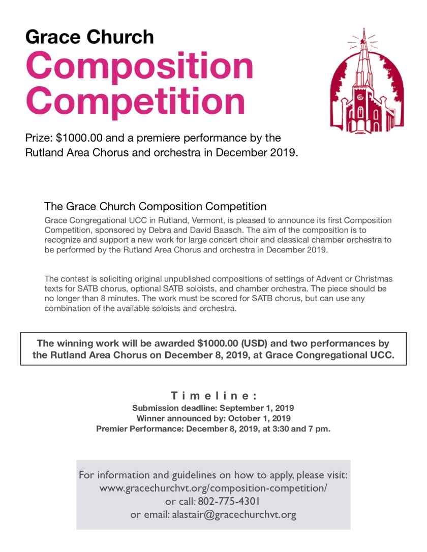 Composition Compeition Press Release