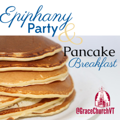 Epiphany party pancakes