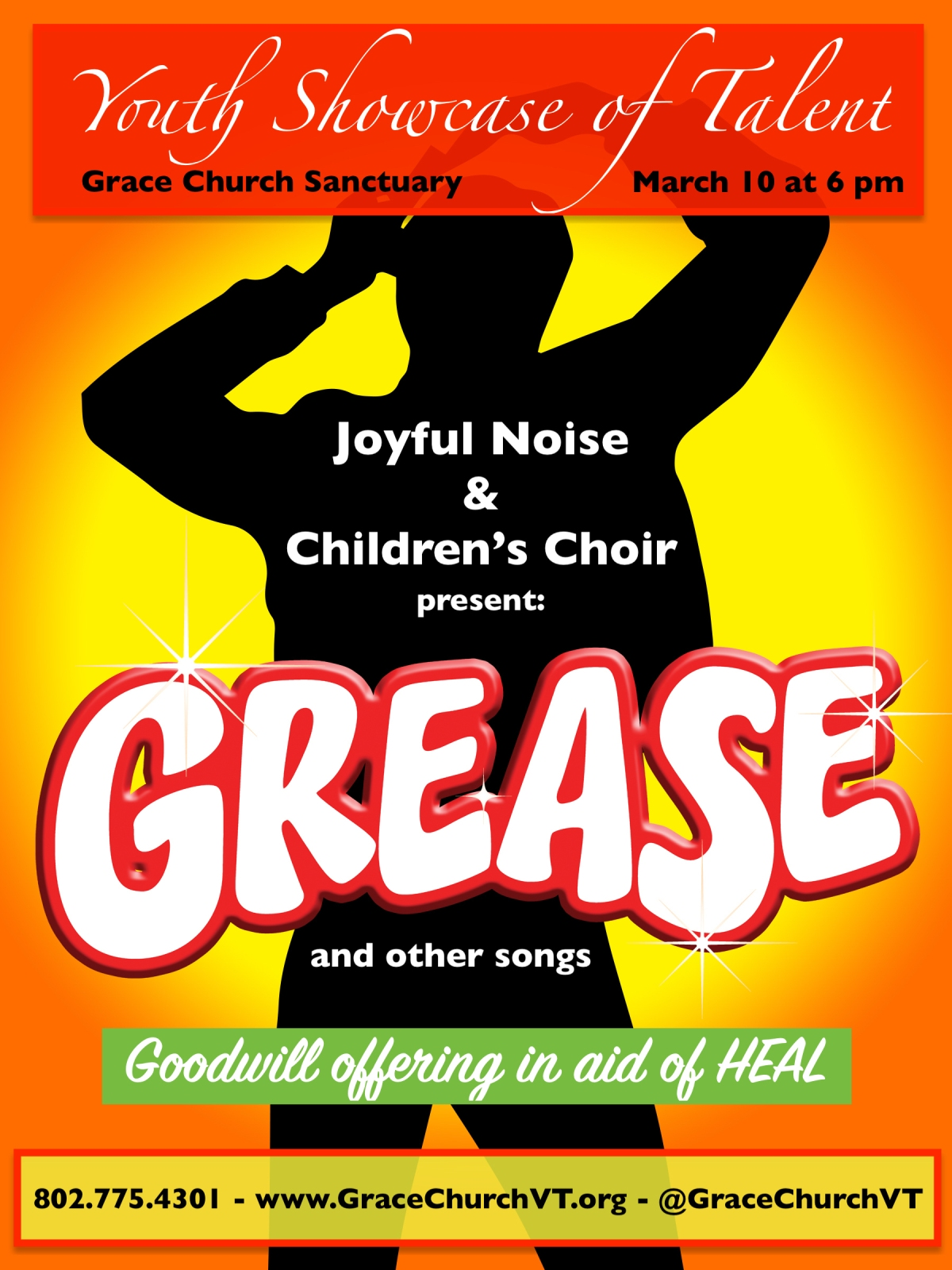 Mar. 10 – Grease!