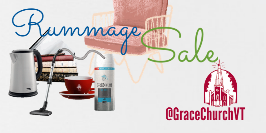 Grace Church 2019 Fall Rummage Sale
