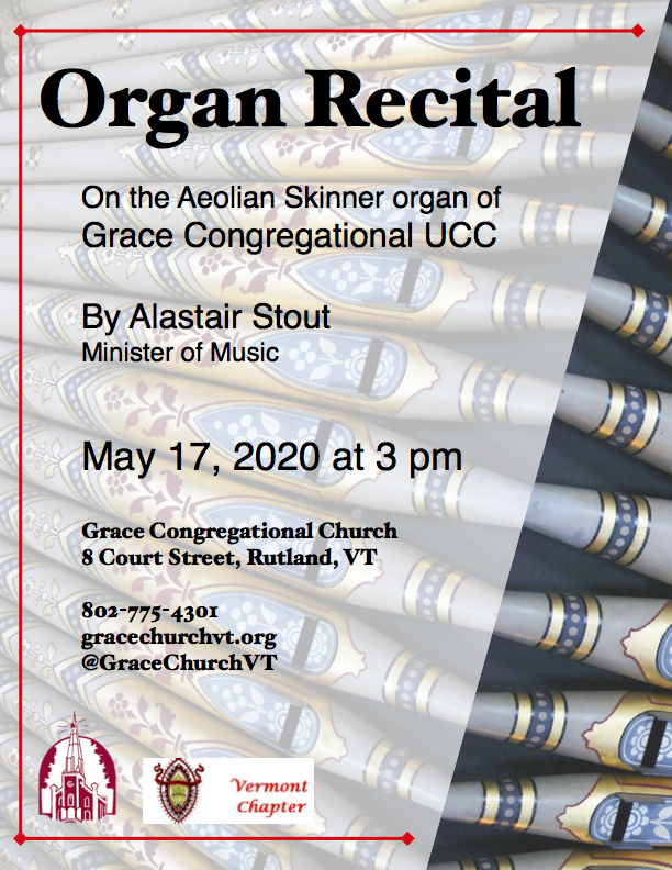 May 17 ~ AGO Organ Recital